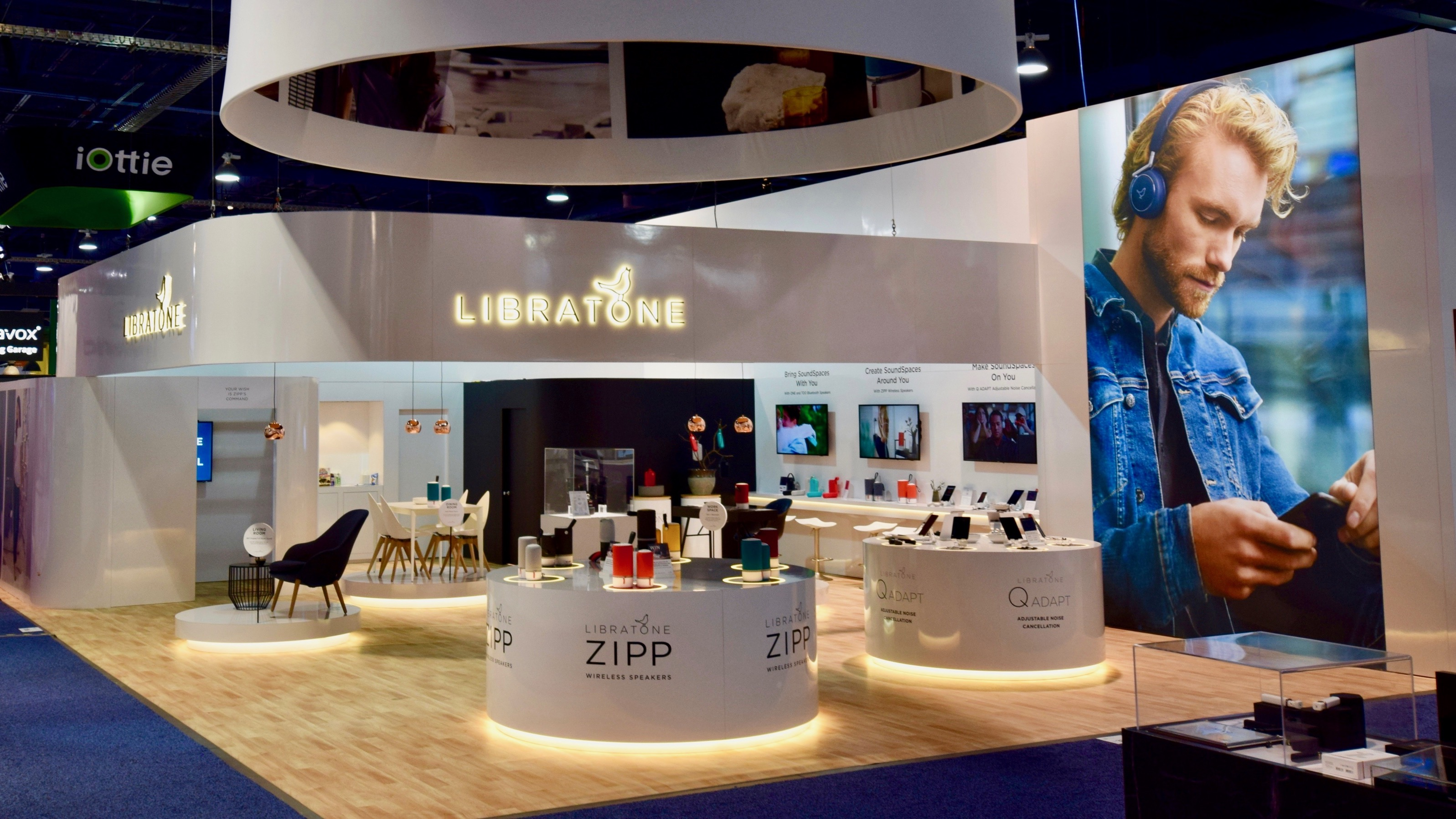 Libratone F exhibit rental